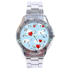 Love Hunting Stainless Steel Analogue Watch by Valentinaart