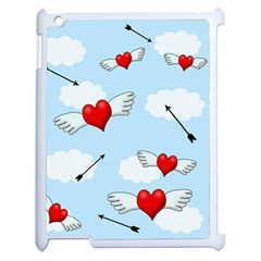 Love Hunting Apple Ipad 2 Case (white) by Valentinaart