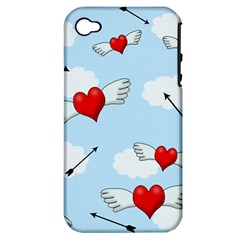 Love Hunting Apple Iphone 4/4s Hardshell Case (pc+silicone) by Valentinaart