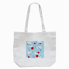 Love hunting Tote Bag (White) by Valentinaart