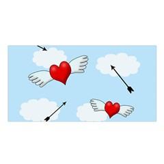 Love Hunting Satin Shawl by Valentinaart