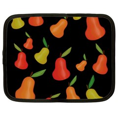 Pears Pattern Netbook Case (xxl)  by Valentinaart