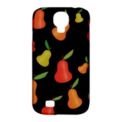 Pears Pattern Samsung Galaxy S4 Classic Hardshell Case (pc+silicone) by Valentinaart
