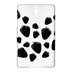 Black Strowberries Samsung Galaxy Tab S (8 4 ) Hardshell Case  by Valentinaart