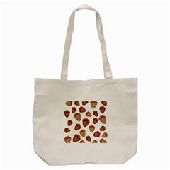Chocolate Strawberries  Tote Bag (cream) by Valentinaart