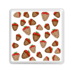 Chocolate Strawberries  Memory Card Reader (square)  by Valentinaart