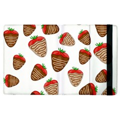 Chocolate Strawberries  Apple Ipad 3/4 Flip Case by Valentinaart