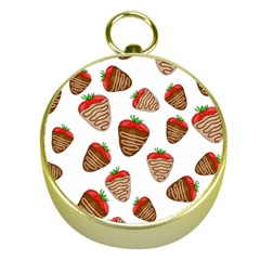 Chocolate Strawberries  Gold Compasses by Valentinaart