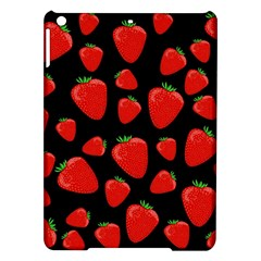 Strawberries Pattern Ipad Air Hardshell Cases by Valentinaart