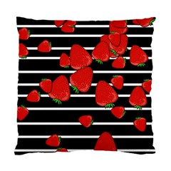 Strawberries  Standard Cushion Case (two Sides) by Valentinaart