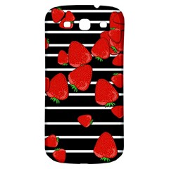 Strawberries  Samsung Galaxy S3 S Iii Classic Hardshell Back Case by Valentinaart