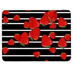 Strawberries  Samsung Galaxy Tab 7  P1000 Flip Case by Valentinaart