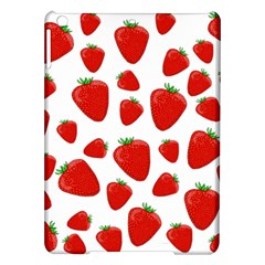 Decorative Strawberries Pattern Ipad Air Hardshell Cases by Valentinaart