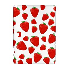 Decorative Strawberries Pattern Galaxy Note 1 by Valentinaart