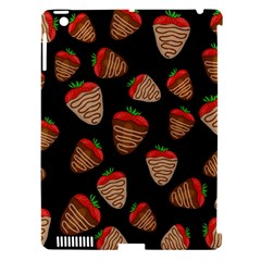 Chocolate Strawberries Pattern Apple Ipad 3/4 Hardshell Case (compatible With Smart Cover) by Valentinaart
