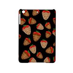 Chocolate Strawberries Pattern Ipad Mini 2 Hardshell Cases by Valentinaart