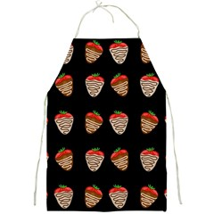 Chocolate Strawberies Full Print Aprons by Valentinaart
