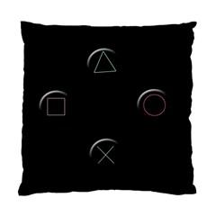 Joystick  Standard Cushion Case (one Side) by Valentinaart