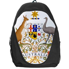 Coat Of Arms Of Australia Backpack Bag by abbeyz71