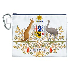 Coat Of Arms Of Australia Canvas Cosmetic Bag (xxl) by abbeyz71