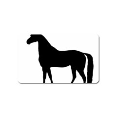 Thoroughbred Silo Magnet (Name Card) by TailWags