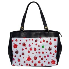 Beetle Animals Red Green Fly Office Handbags by Amaryn4rt