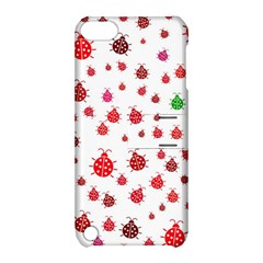 Beetle Animals Red Green Fly Apple Ipod Touch 5 Hardshell Case With Stand by Amaryn4rt