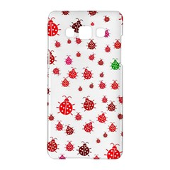 Beetle Animals Red Green Fly Samsung Galaxy A5 Hardshell Case  by Amaryn4rt