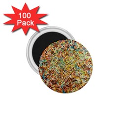 Art Modern Painting Acrylic Canvas 1 75  Magnets (100 Pack)  by Amaryn4rt