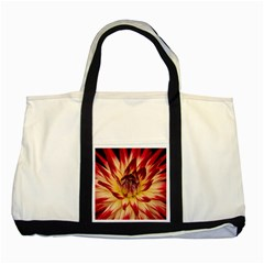 Bloom Blossom Close Up Flora Two Tone Tote Bag by Amaryn4rt