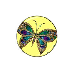Butterfly Mosaic Yellow Colorful Hat Clip Ball Marker (10 Pack) by Amaryn4rt