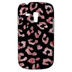 Skin5 Black Marble & Red & White Marble (r) Samsung Galaxy S3 Mini I8190 Hardshell Case by trendistuff