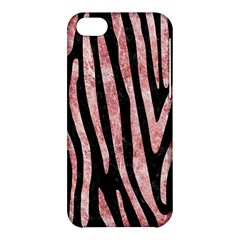 Skin4 Black Marble & Red & White Marble (r) Apple Iphone 5c Hardshell Case by trendistuff
