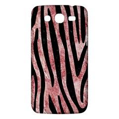 Skin4 Black Marble & Red & White Marble Samsung Galaxy Mega 5 8 I9152 Hardshell Case  by trendistuff
