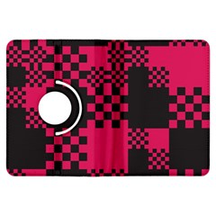 Cube Square Block Shape Creative Kindle Fire Hdx Flip 360 Case by Amaryn4rt
