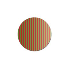 Pattern Background Red White Green Golf Ball Marker (4 Pack) by Amaryn4rt