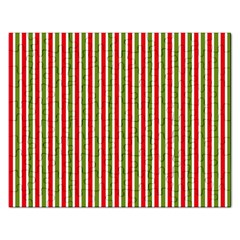 Pattern Background Red White Green Rectangular Jigsaw Puzzl