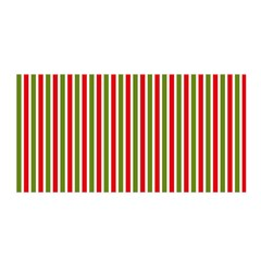 Pattern Background Red White Green Satin Wrap by Amaryn4rt