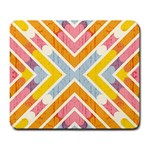 Line Pattern Cross Print Repeat Large Mousepads