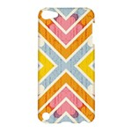Line Pattern Cross Print Repeat Apple iPod Touch 5 Hardshell Case