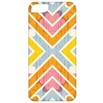 Line Pattern Cross Print Repeat Apple iPhone 5 Classic Hardshell Case