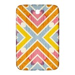 Line Pattern Cross Print Repeat Samsung Galaxy Note 8.0 N5100 Hardshell Case