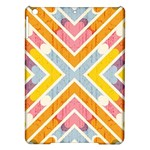 Line Pattern Cross Print Repeat iPad Air Hardshell Cases