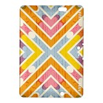 Line Pattern Cross Print Repeat Kindle Fire HDX 8.9  Hardshell Case