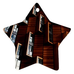 Abstract Architecture Building Business Star Ornament (two Sides)