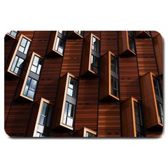 Abstract Architecture Building Business Large Doormat  by Amaryn4rt
