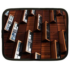 Abstract Architecture Building Business Netbook Case (xxl)  by Amaryn4rt