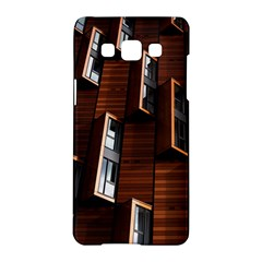 Abstract Architecture Building Business Samsung Galaxy A5 Hardshell Case  by Amaryn4rt