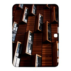 Abstract Architecture Building Business Samsung Galaxy Tab 4 (10.1 ) Hardshell Case  by Amaryn4rt