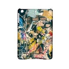 Art Graffiti Abstract Vintage Lines Ipad Mini 2 Hardshell Cases by Amaryn4rt